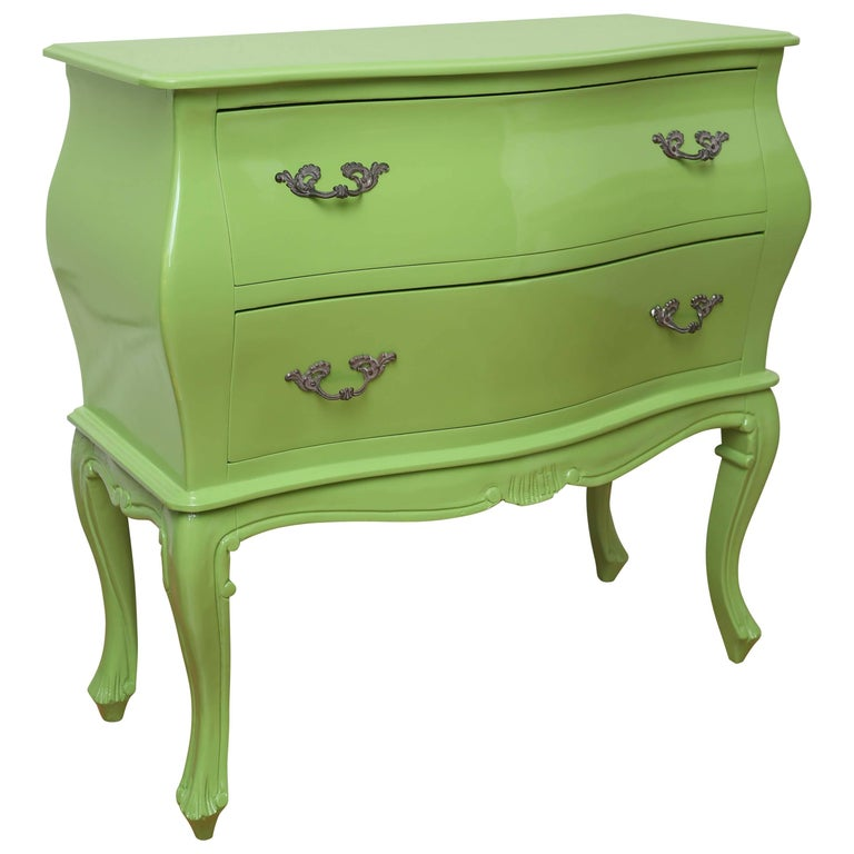 Italian Two-Drawer Bombay Commode For Sale