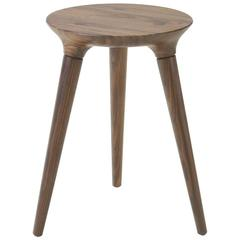 Roger Tallon Set Of Four Foldable Stools In Maple For Sale
