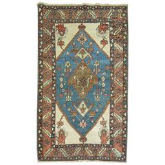 Antique Persian Bakshaish Tribal Rug