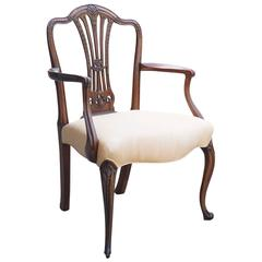 George III Formal Open Armchair