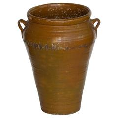 19th Century Catalan Olive Pot