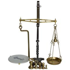 19th Century English Beam Scale