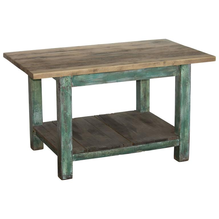 Antique Work Table Or Kitchen Island At 1stdibs
