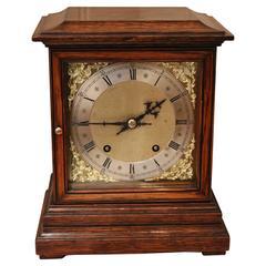 Oak Mantel Clock