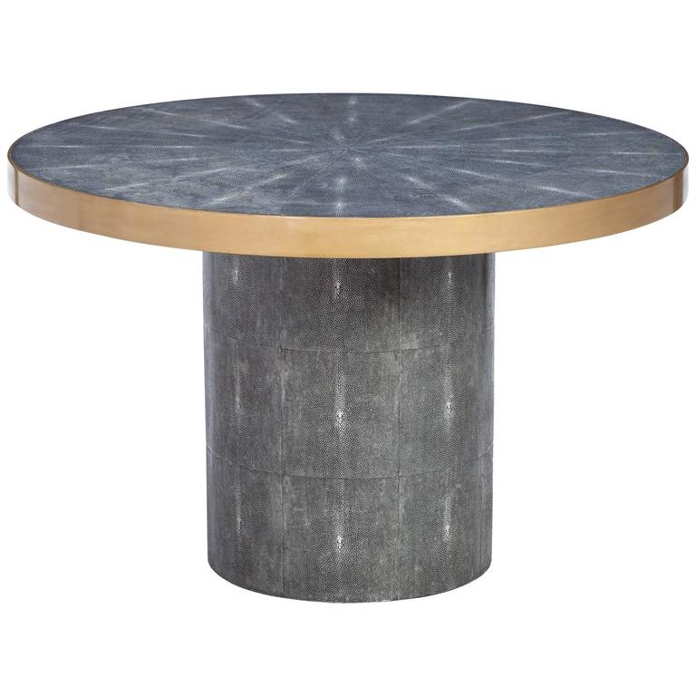 Faux Shagreen Table 1