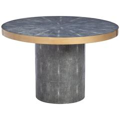 Faux Shagreen Table