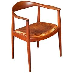 "Hans Wegner ""the Chair"" by Johannes Hansen in Original Condition"