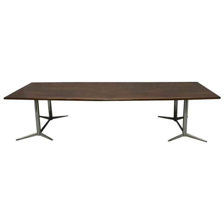 good quality large boardroom or dining table by heals for