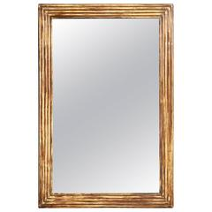 French Empire Style Pinewood Mirror