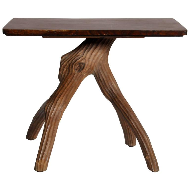 Naturalistic Table For
