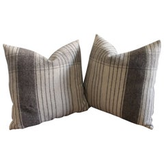 Pair of Handwoven Alpaca Pillows