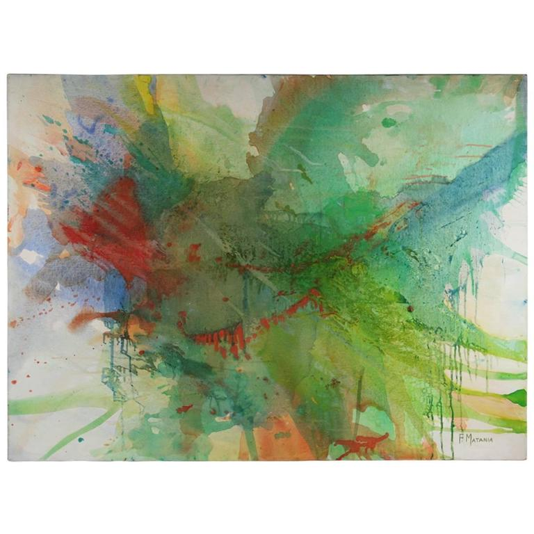 Surface Large Abstract Painting