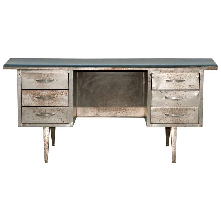 Outstanding Industrial Iron Desk