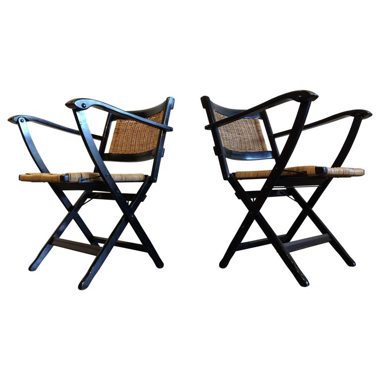 Pair of Attractive Italian Armchairs