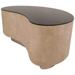 Kidney Shaped Coffee Table by Maitland Smith