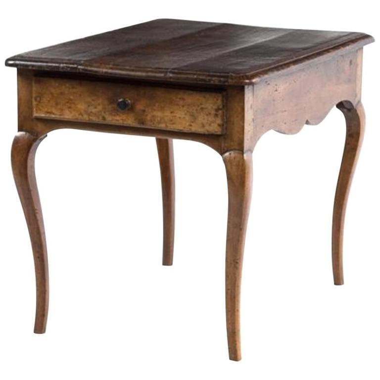 Charming 18th Century Provincial Side Table 1