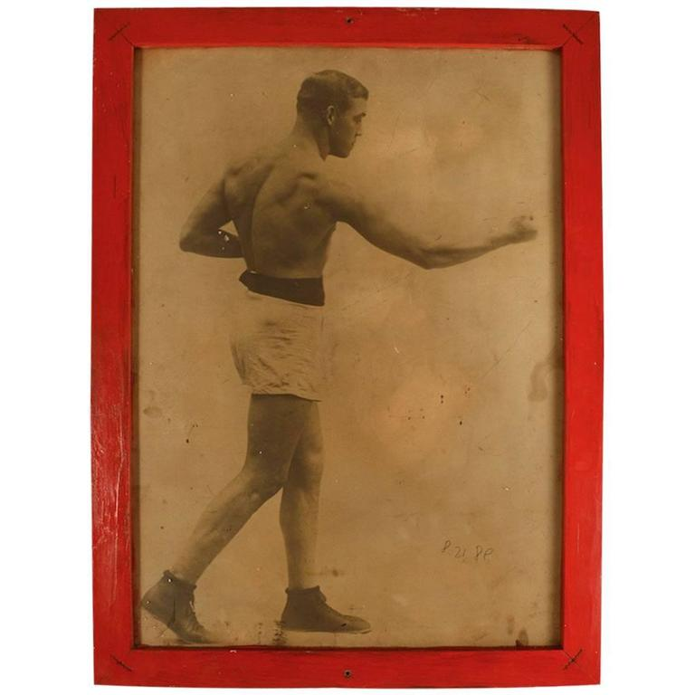Folky Decorative Image of Boxer Al Reich