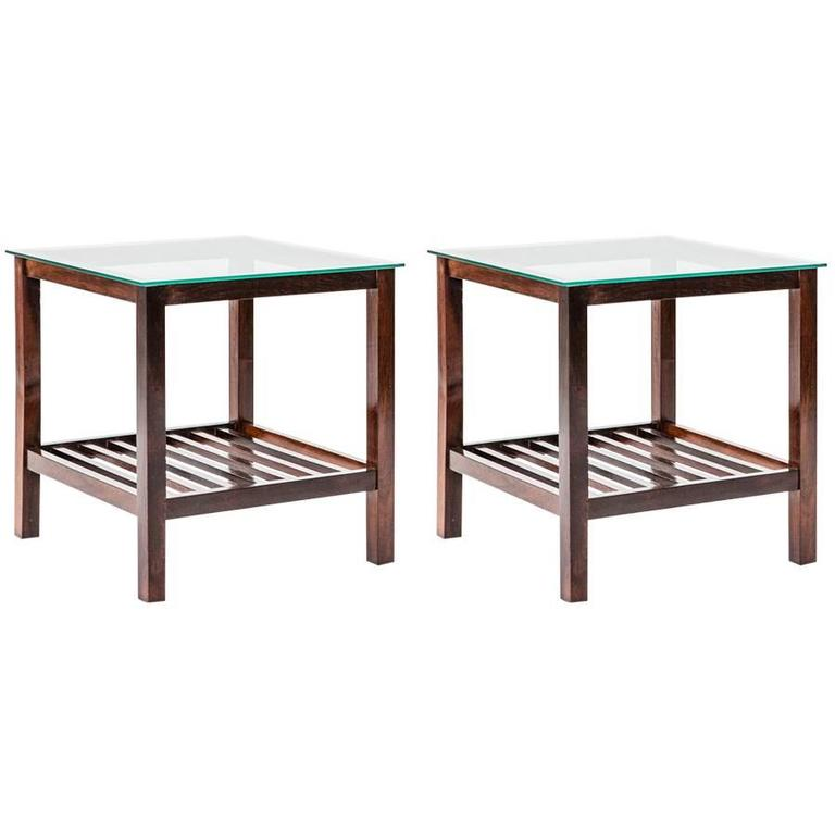 Lovely Pair of Brazilian Coffee Tables