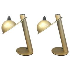 Pair of Table Lamps by Ettore Sottsass for Stilnovo
