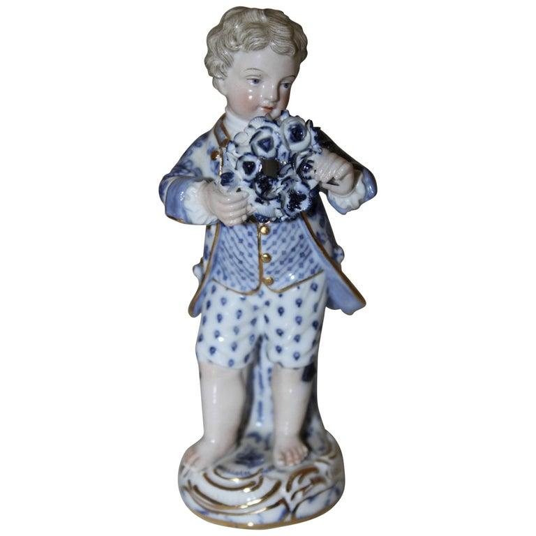 19th Century German Meissen Figurine For Sale