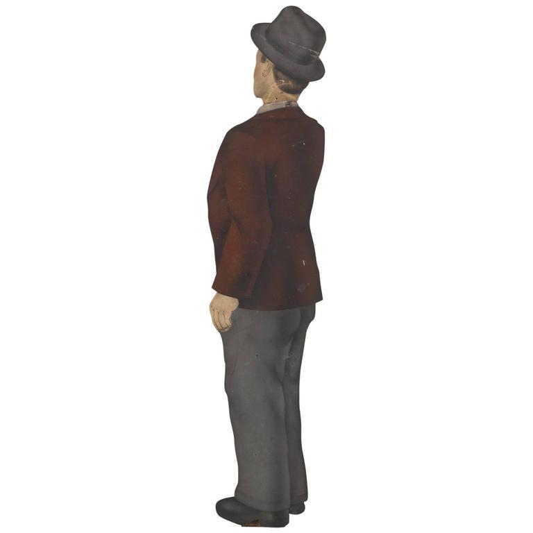 Figural Gentleman Trade Sign