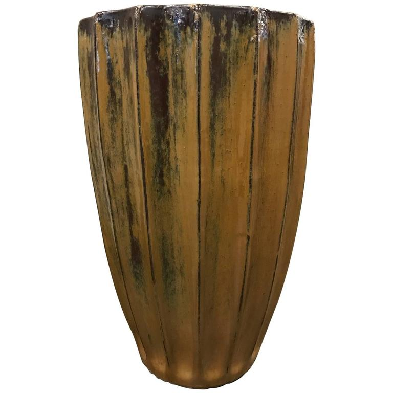 Large Ceramic Planter Made in Germany
