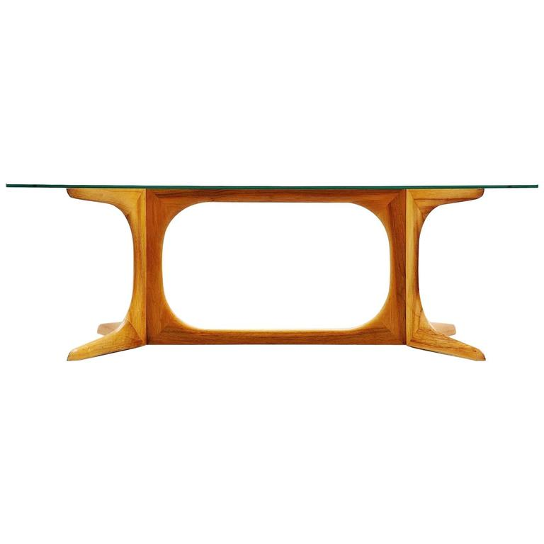 Ico e Luisa Parisi Attributed Coffee Table Como, Italy, 1950