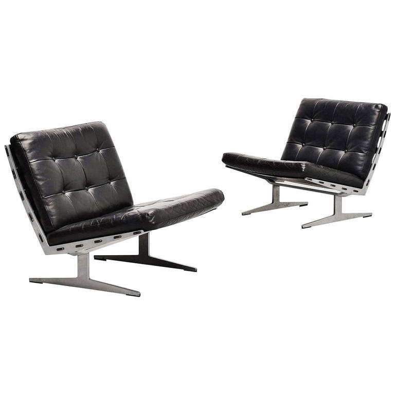 Paul Leidersdorff Lounge Chair Pair, Denmark, 1965