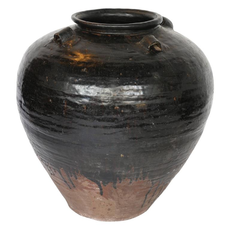 Late 17th Century Khmer Jar