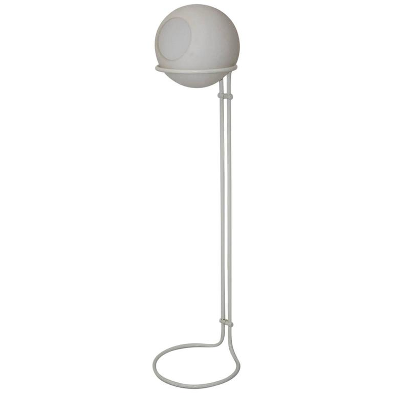White Floor Lamp 1970s