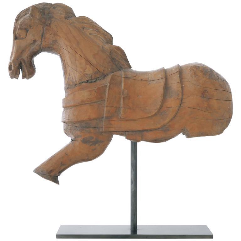 Carved Hacienda Horse