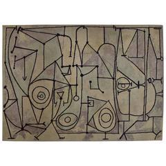 Pablo Picasso (after) La Cocina Limited Edition Art Rug