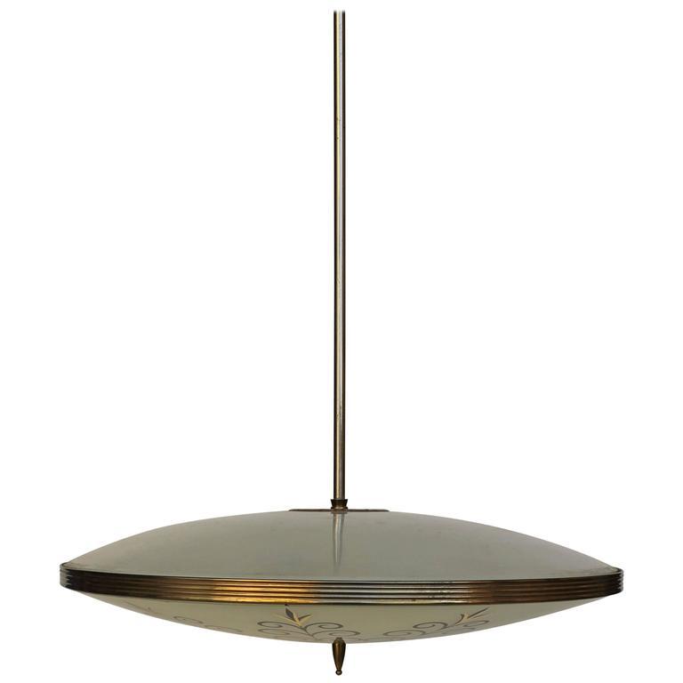 fontana arte chandelier for sale at 1stdibs. Black Bedroom Furniture Sets. Home Design Ideas