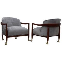 Robsjohn-Gibbings for Widdicomb Lounge Chairs
