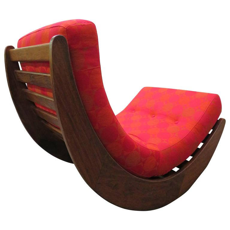 exciting rocking chair relaxer denmark 1974 by verner panton mid