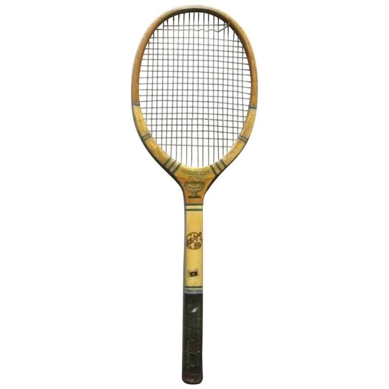 Tennis Racquet Sale >> Vintage Tennis Racket Fh Ayres For Sale At 1stdibs
