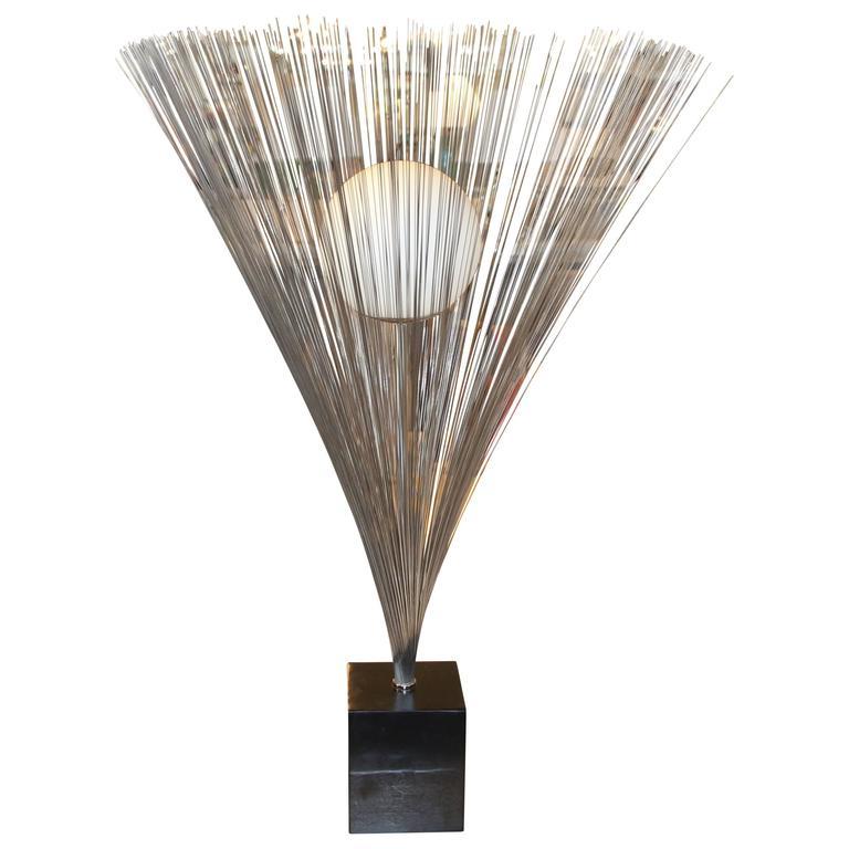 Nice Vintage Laurel Spray Lamp