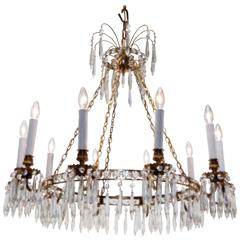 Continental Ten-Light Chandelier