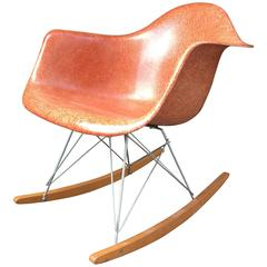 Herman Miller Eames Terra Cotta RAR Rocking Chair