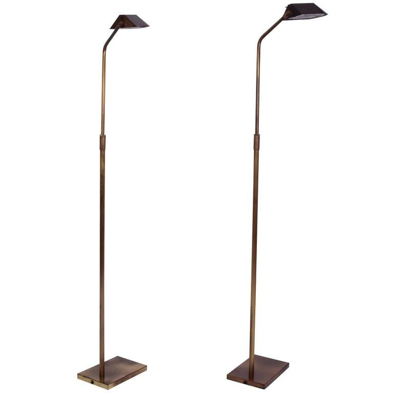 Pair Of Mid Century Modern George Kovacs Reading Lamps At