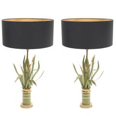 Pair of Lamps in Maison Jansen Style