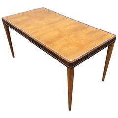 Carl Bergsten Dining Table Swedish Art Deco Period Piece