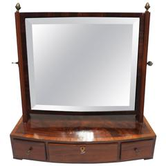 Beautiful Antique Vanity Mirror with Drawers