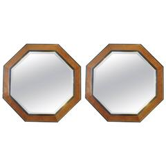 Pair of Huge Octagonal Mirrors