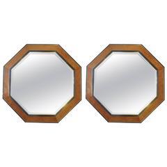 Pair of Huge Octagonal Mirrors