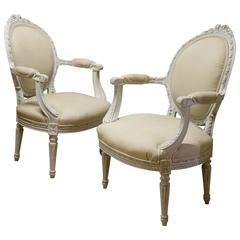 Pair of French Occasional Chairs