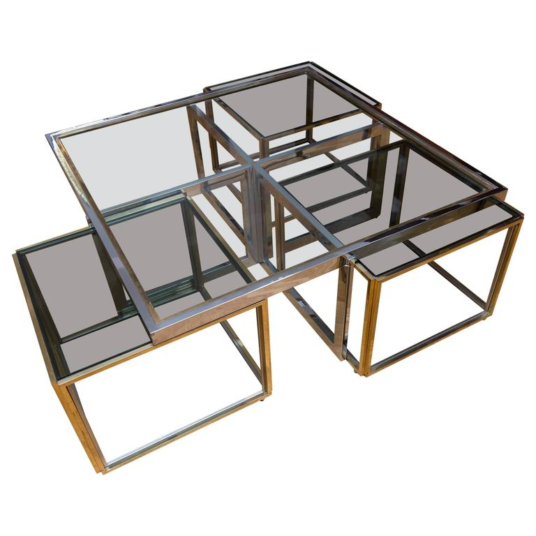 Low Table by Maison Jean Charles, France, circa 1970