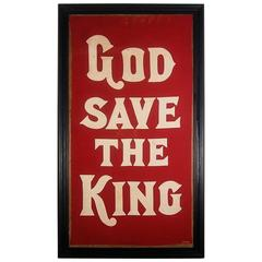 God Save The King Coronation Banner, 1937