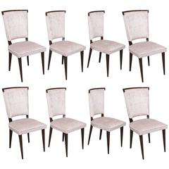 Set of French Eight Dinning Chairs