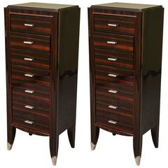 Two Art Deco Chest of Drawers